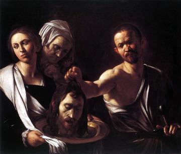 Salomé con la testa del Battista (Caravaggio, National Gallery, Londra)