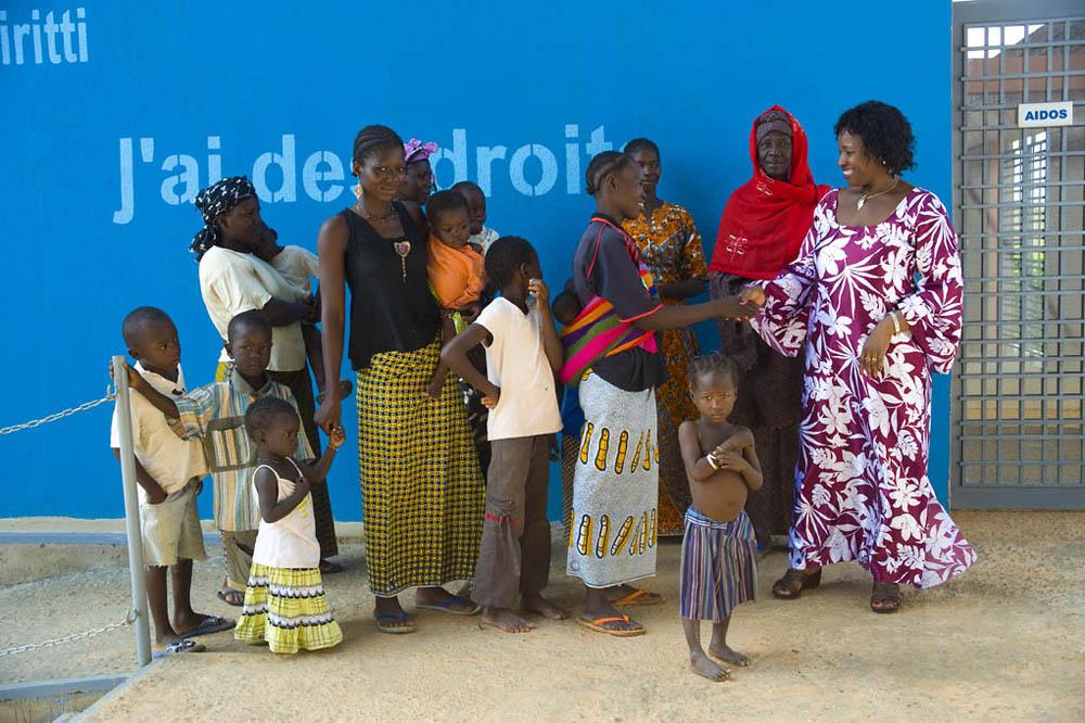 4_Progettare solidale Riccardo Vannucci_FAREstudio, CBF_Centre pour le Bien-être des Femmes et la prévention des mutilations génitales féminines 'G.Kambou', 2006-2007. Ouagadougou Burkina FasoPhoto credits: FAREstudio; © Sheila McKinnon