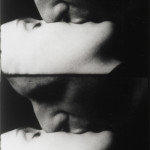 Andy Warhol. Kiss (1963-64). 16mm film (black and white, silent). 54 min. at 16fps. @ 2010 The Andy Warhol Museum, Pittsburgh, PA, a museum of Carnegie Institute. All rights reserved. Film still courtesy of The Andy Warhol Museum.