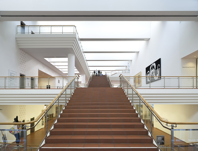 THE MUSEUM LUDWIG | COLOGNE | 1F MEDIAPROJECT  THE MUSEUM LUDW...