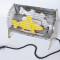 Bill Woodrow Electric Fire with Yellow Fish, 1981 Electric fire, enamel and acrylic paint 27 x 37 x 19 cm Waddington Galleries, London Photo courtesy Waddington Galleries, London Copyright Bill Woodrow