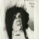 "Arnulf Rainer. Braids. 1966. Photograph, oil stick, crayon, and pencil on paper. 11 1/2 x 10"" (29.2 x 25.1 cm). The Museum of Modern Art. Gift of The Cosmopolitan Arts Foundation. © 2010 Arnulf Rainer"