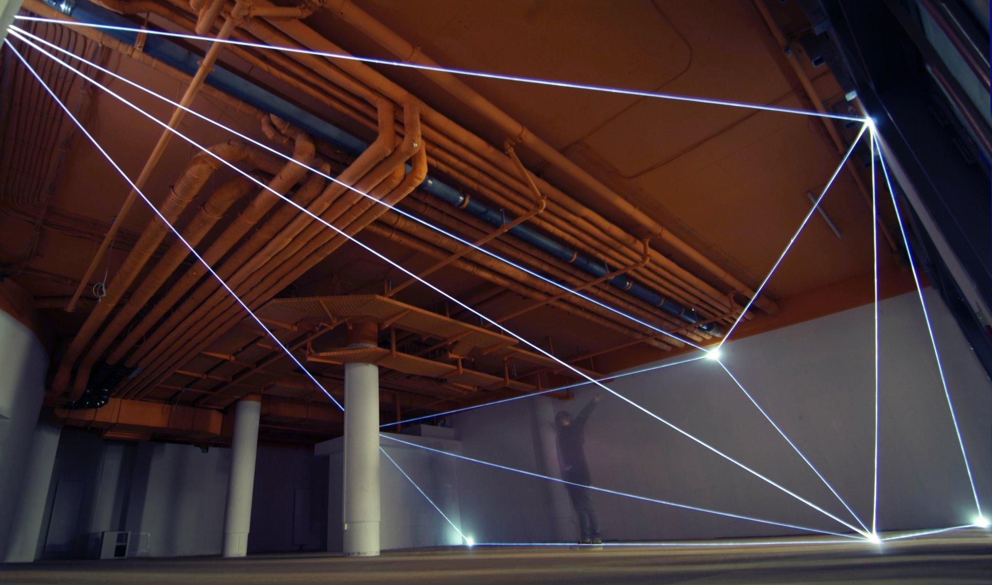 Carlo Bernardini, Vacuum, Delloro Arte Contemporanea. Berlino 2011
