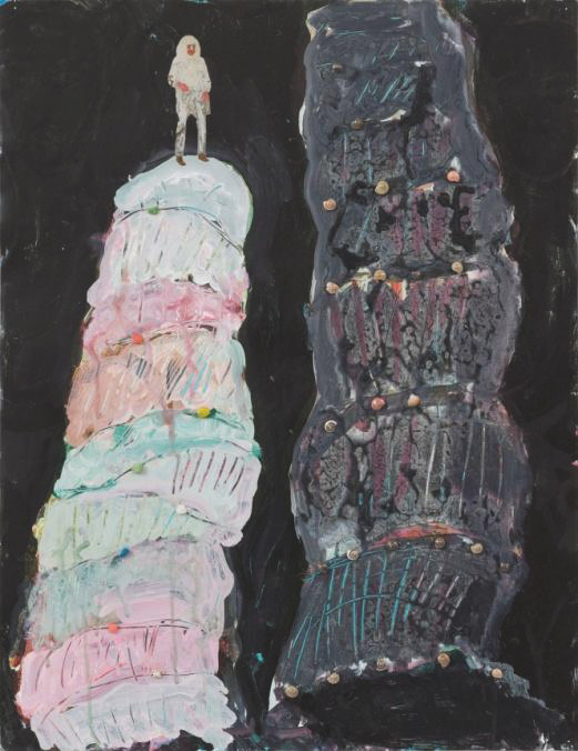Rik Meijers, From the place that is the World, 2002 65 x 50 cm Mixed media on paper