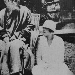 Rabindranath Tagore and Victoria Ocampo on the grounds of Villa Ocampo, north of Buenos Aires. Courtesy Rabindra Bhavana Archives, Visva-Bharati, Santiniketan.