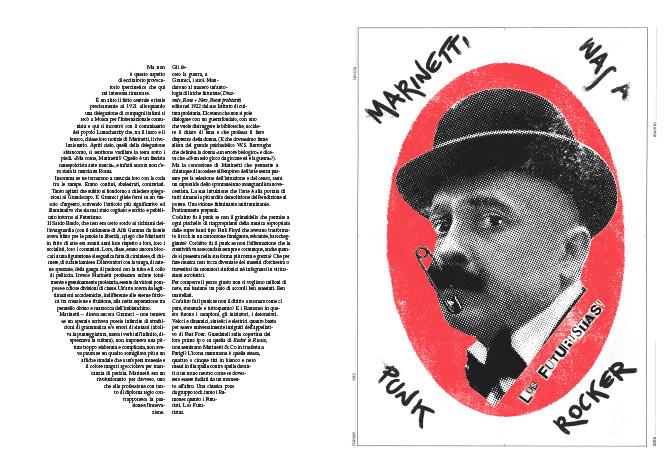 Pablo Echaurren, Marinetti was a punk rocker, illustrato da Maurizio Ceccato