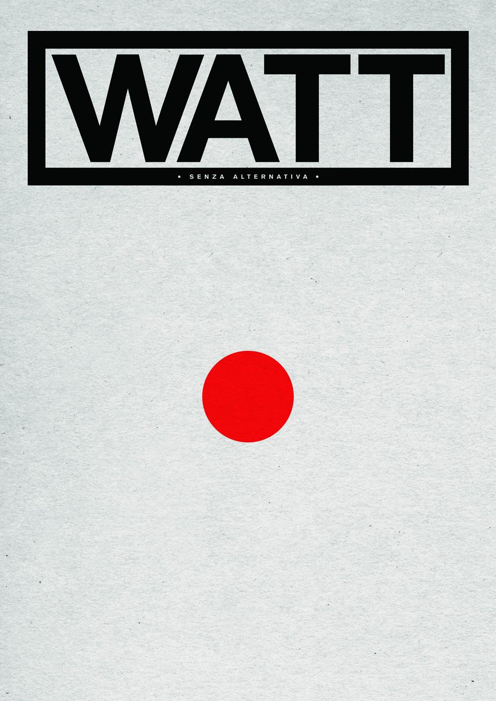 WATT_0_cover by Maurizio Ceccato