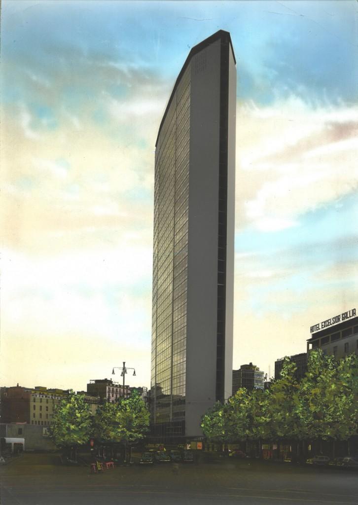 Grattacielo Pirelli, Milano, 1960 © Gio Ponti Archives