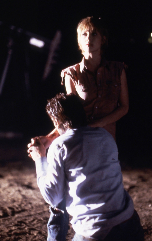 Near Dark. 1987. USA. Directed by Kathryn Bigelow. Pictured: Jenny Wright and Adrian Pasdar. Photo Credit: Gary Farr.