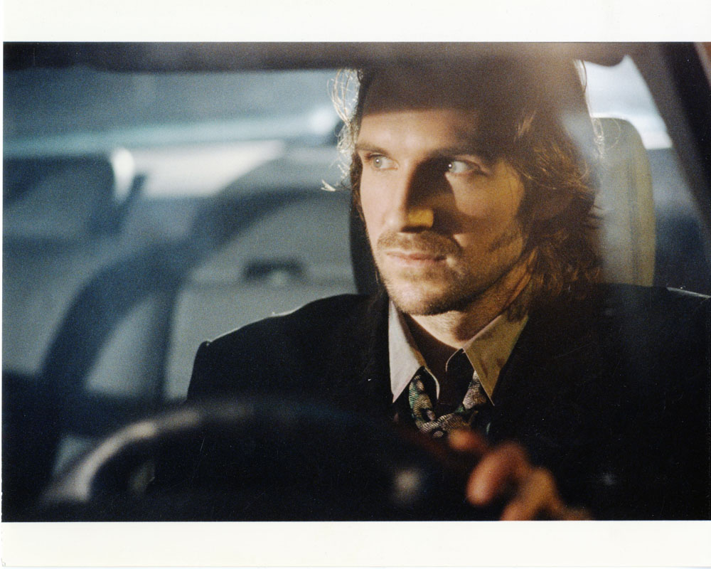 Strange Days. 1995. USA. Directed by Kathryn Bigelow. Pictured: Ralph Fiennes. Image courtesy of Merie W. Wallace, © 1995 Twentieth Century Fox.
