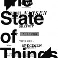 Office for Contemporary Art Norway Announces 'THE STATE OF THINGS' at the 54th International Art Exhibition, La Biennale di Venezia 1 June–17 November 2011 http://www.oca.no/international/venice_11.shtml ABOUT 'THE STATE OF THINGS':...