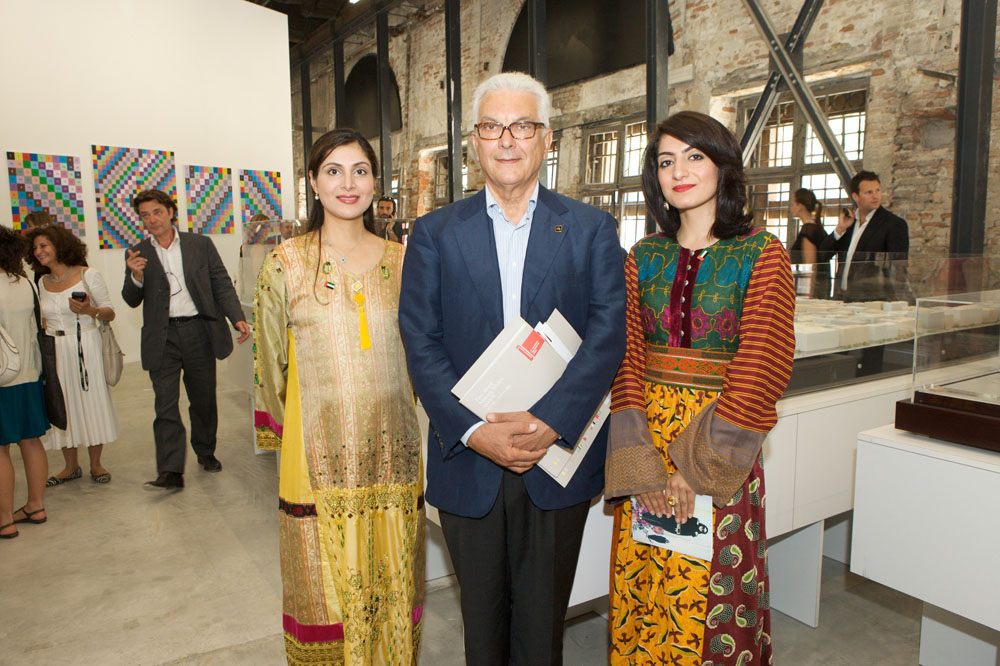 Opening of the National Pavilion: Venice 4th June 2009 - Credit for Pavilion Opening Photographer, Mohamed Somji
