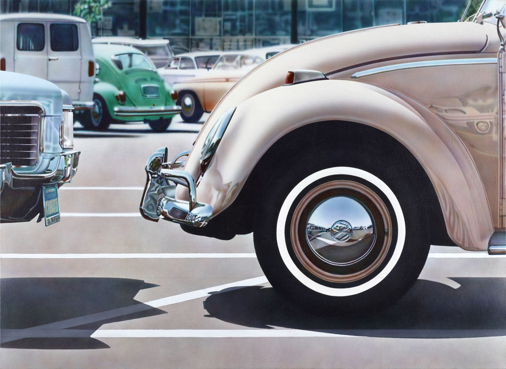Don Eddy Untitled (Volkswagen) 1971 acryl on canvas 122 x 152 cm Photo © MUMOK, Museum moderner Kunst Stiftung Ludwig Wien, Leihgabe der Österreichischen Ludwig Stiftung