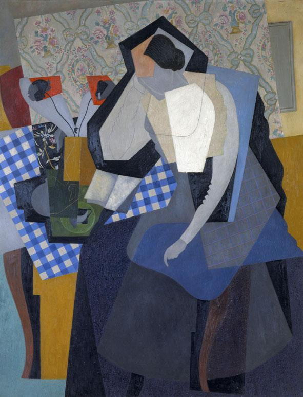 Femme lisante (Jeanne dans l'atelier; La lecture n. 1), 1916 olio su tela, 147 x 115 cm Collezione privata