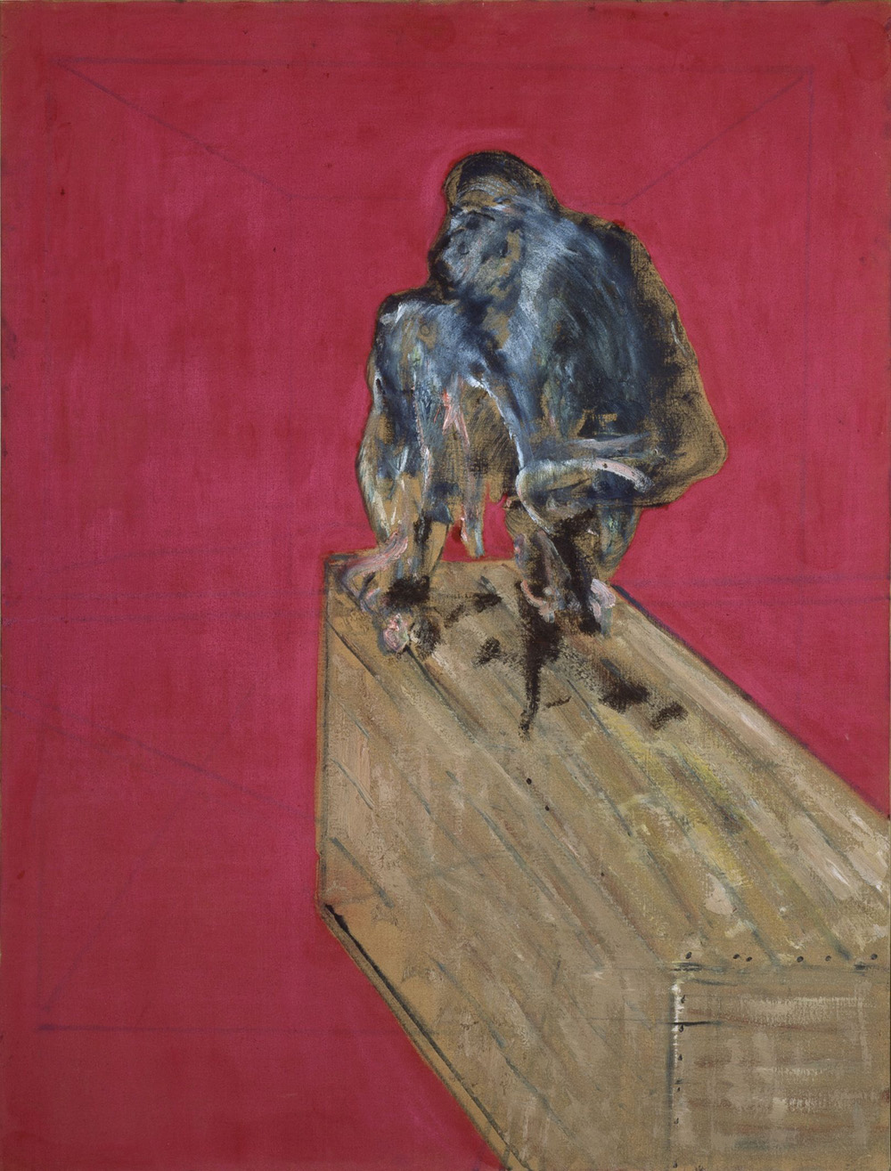Francis Bacon Studio per scimpanzè / Study for Chimpanzee Marzo/march 1957 Peggy Guggenheim Collection, Venezia © The Estate of Francis Bacon, by SIAE 2011