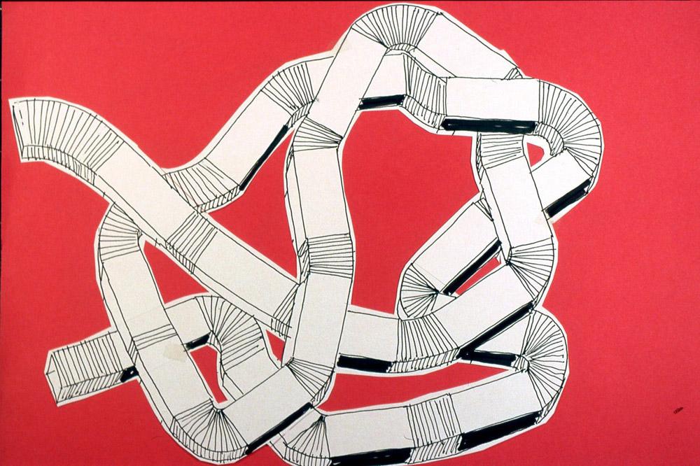 Yona Friedman: Cím nélkül, é.n. A művész jóvoltából. Yona Friedman: Without title, n.d. Courtesy of the Artist.