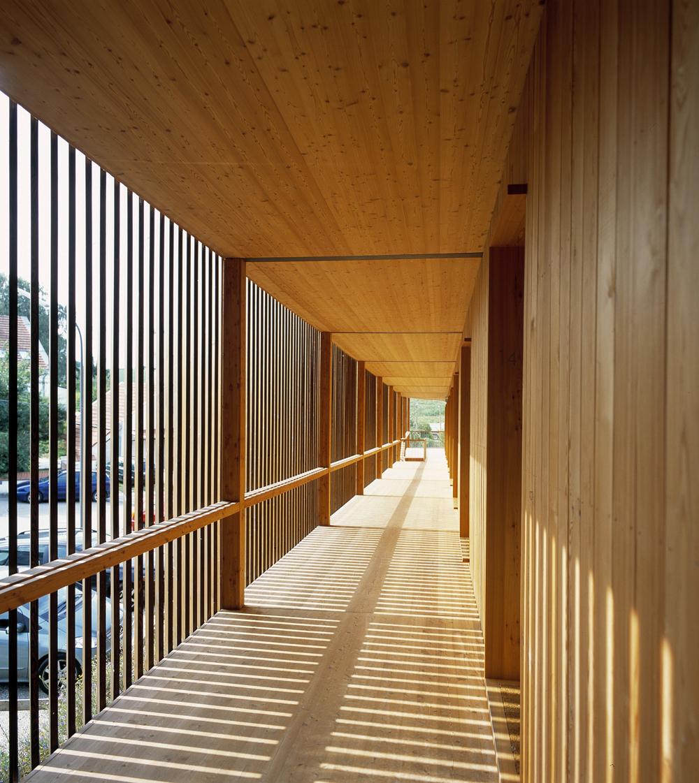 deppisch architekten biohotel in apple orchard