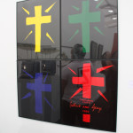 Konrad Fischer Galerie Dusseldorf, Gilbert and George, Colourd Faith, 1980, 4 hand dyed photographs in artists frames, 121 x 121 cm