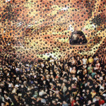 White Cube, Andreas Gursky, Cocoon II, 2008, Edition of 6, C-print (211.5 x 506 x 6.2 cm) photo by Luca Viola