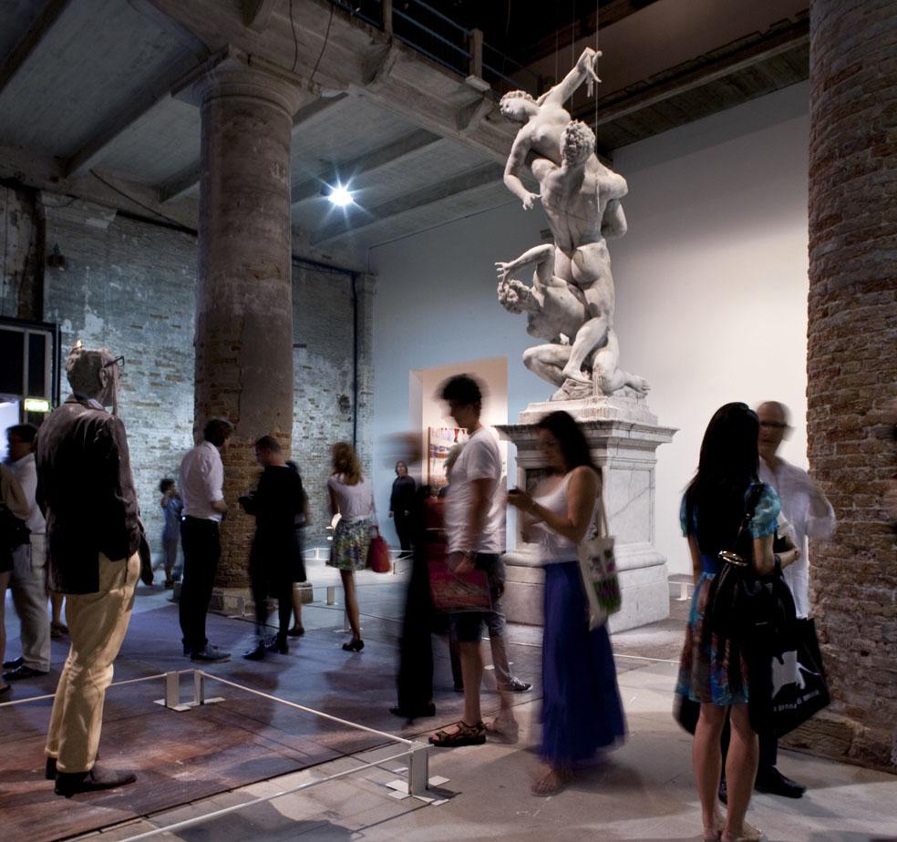 Urs Fischer_Corderie_Arsenale_Venice Art Biennale 2011