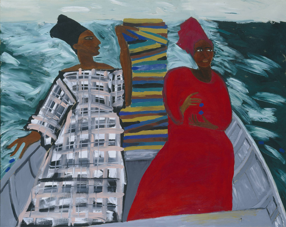 Lubaina Himid Between the Two My Heart is Balanced 1991 Tate © Lubaina Himid