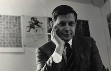 John Alcorn in the 70s. © The Alcorn Studio & Gallery.