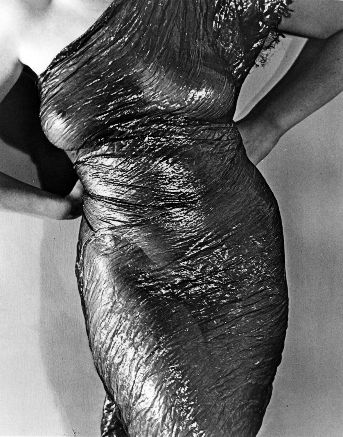 Man ray la robe noire 1930 fotografia new print del 1980 30 x 24