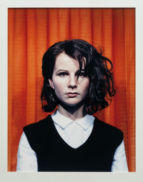 Gillian Wearing, Self Portrait at 17 Years Old , framed c - type print, 115.5 x 92 cm, 2003. Collection of Contemporary Art Fundació ' La Caixa ', Barcelona © Gillian Wearing, courtesy Maureen Paley, London
