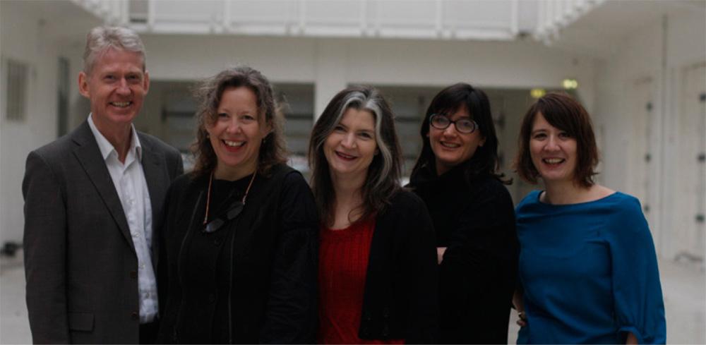 From left to right, Hafþór Yngvason, Katrín Sigurðardóttir, Mary Ceruti, Ilaria Bonacossa, Dorothée Kirch