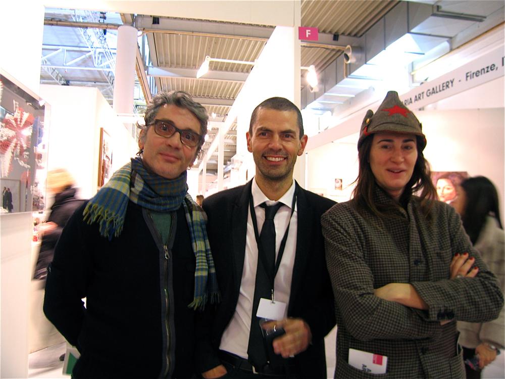 Marco Trevisan, direttore AAF Milano al centro della foto
