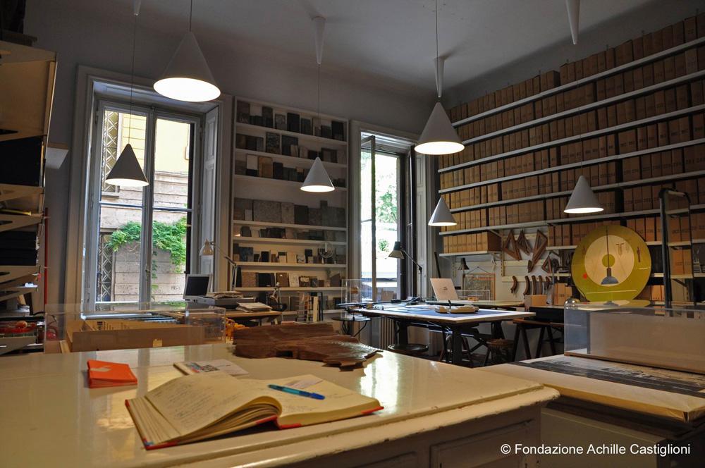 Stanza tecnigrafi - © Fondazione Achille Castiglioni