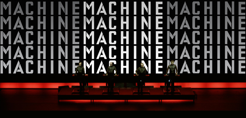 Man Machine. Image courtesy of Sprueth Magers, Berlin and London. © Kraftwerk