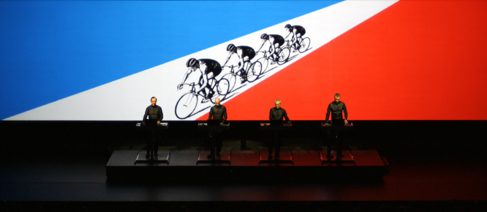 TDF. Image courtesy of Sprueth Magers, Berlin and London. © Kraftwerk