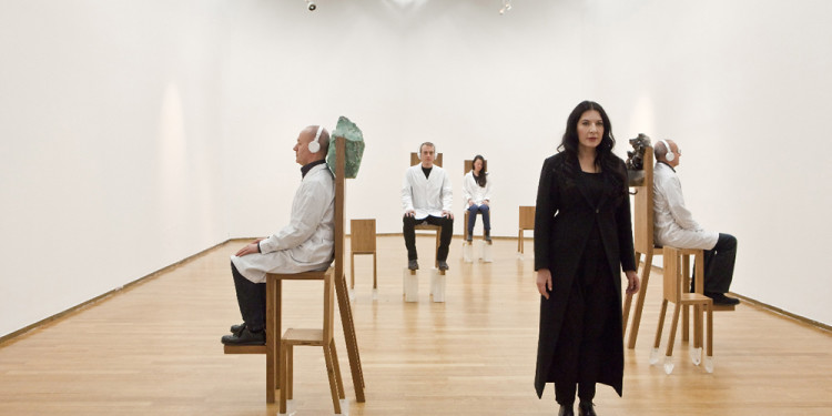 THE ABRAMOVIC METHOD, PAC Milano 2012, © Laura Ferrari