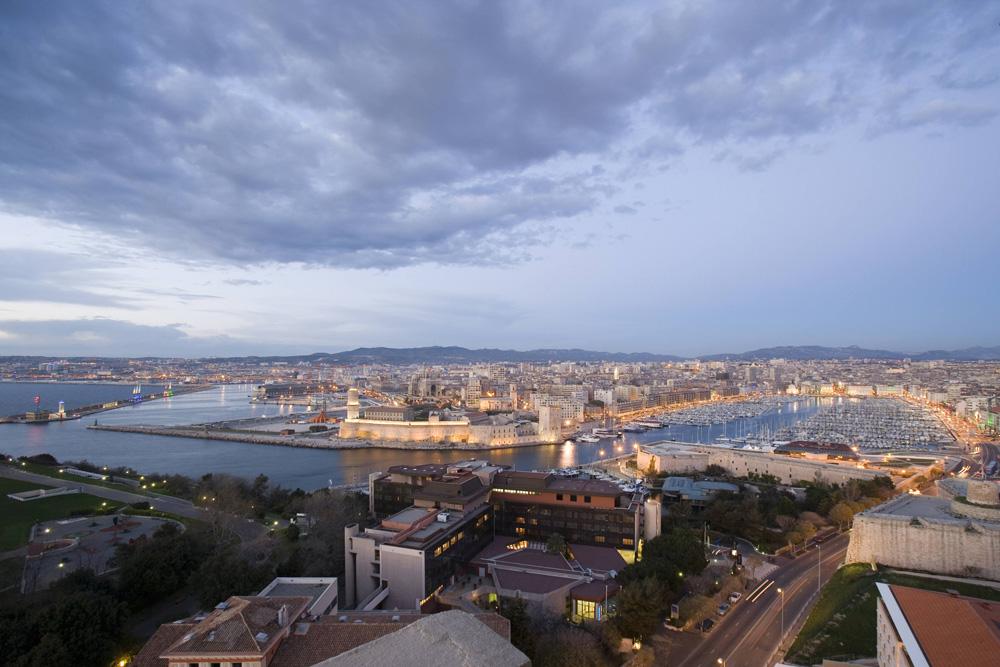 Marseille, vue du Vieux-‐Port. Crédit photographique: ville de Marseille