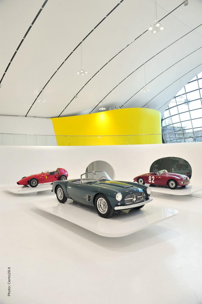 new museo casa enzo ferrari modena 1f mediaproject. Black Bedroom Furniture Sets. Home Design Ideas
