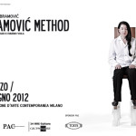 THE ABRAMOVIC METHOD, PAC Milano 2012