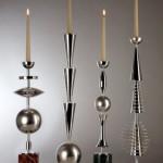 David Palterer Candelieri Giudaici collezione di candelieri in argento Produzione Pampaloni Argentieri (Firenze) Anno 2010