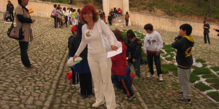 Vittoria Biasi, Progetto In Albis Scalinata di San Bernardino, L'Aquila - 4 Aprile 2012