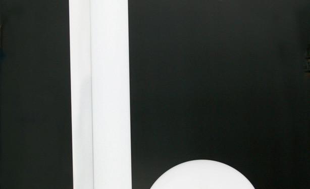 Maïmouna Patrizia Guerresi Fabbrica Minareto plexiglass, neon misure /measures 262 x 81 x 102 cm. Limited edition N1/5 Galleria Paola Colombari