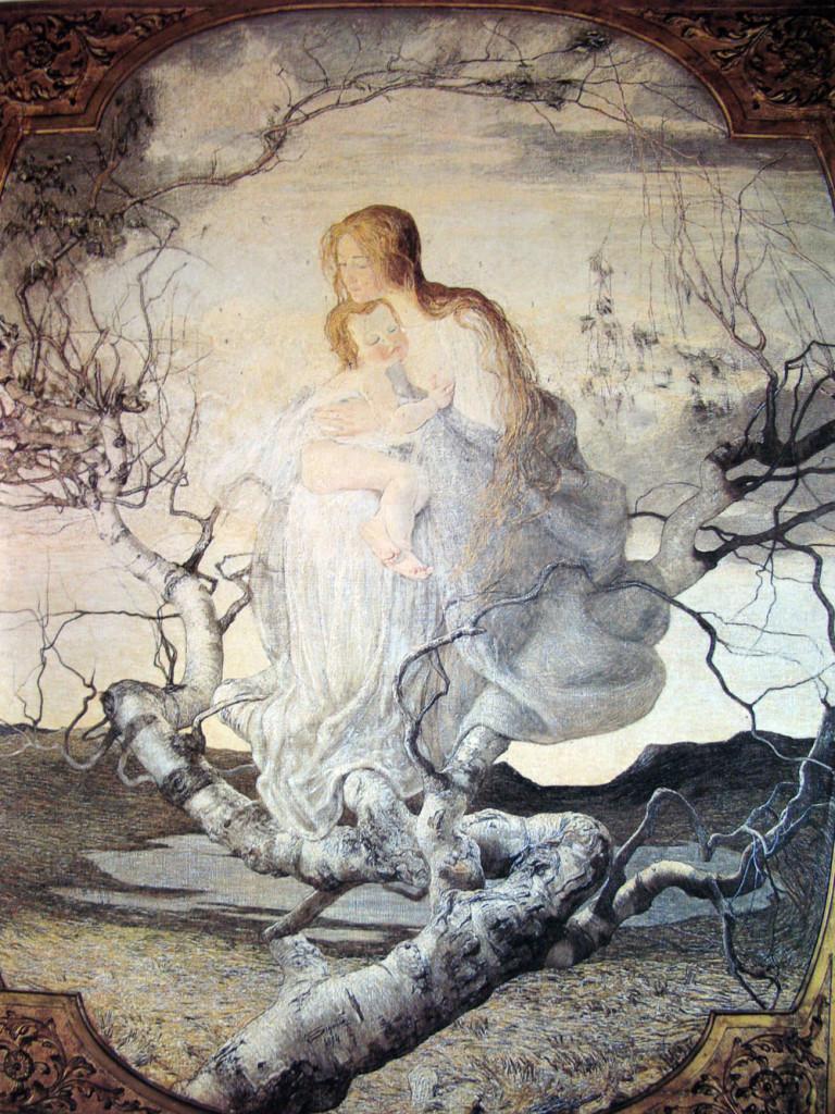 Angel of life, Giovanni Segantini
