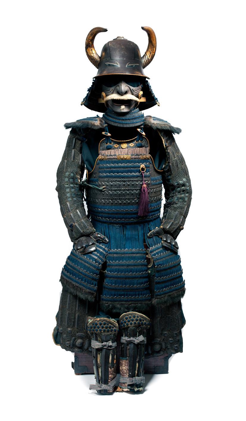 Armatura da samurai Giappone, inizio del periodo Edo (1615-1867) Giuseppe Piva, Milano