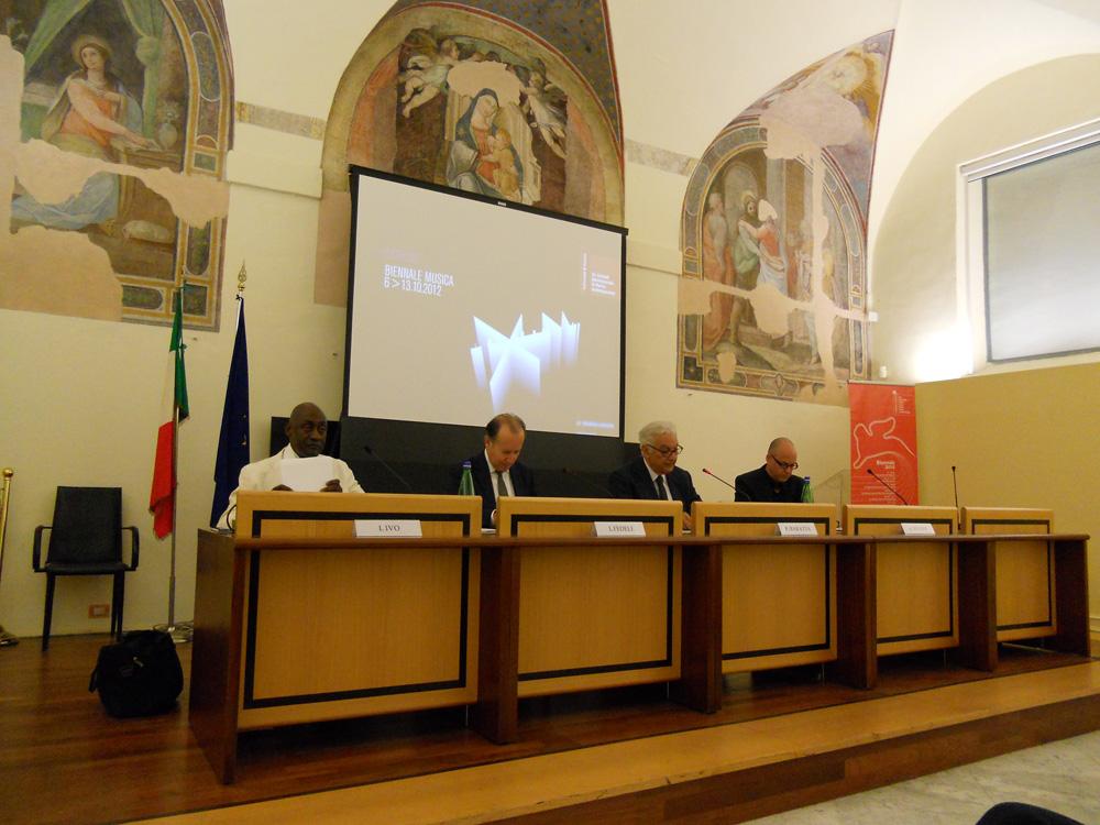 conferenza stampa, Roma, 30.05.2012
