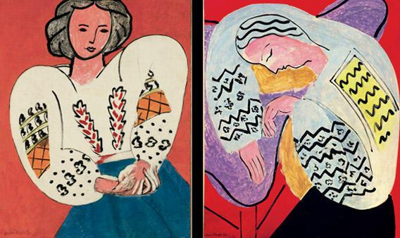 Henri Matisse: Le Rêve, Hôtel Régina, 1940 (La Dormeuse) Private collection Henri Matisse