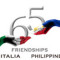 filippine logo 65 anni