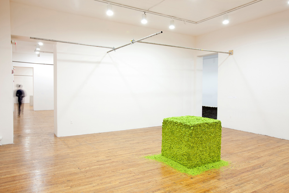 Lara Favaretto: Just Knocked Out Installation view of Lara Favaretto: Just Knocked Out at MoMA PS1, 2012. Photo: Matthew Septimus