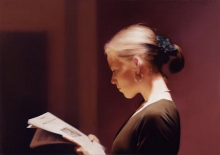 Gerhard Richter Reader 1994 © Gerhard Richter Courtesy San Francisco Museum of Modern Art.