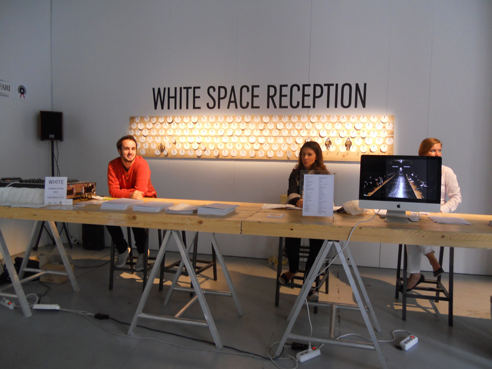 White space reception - via Tortona, settembre 2012