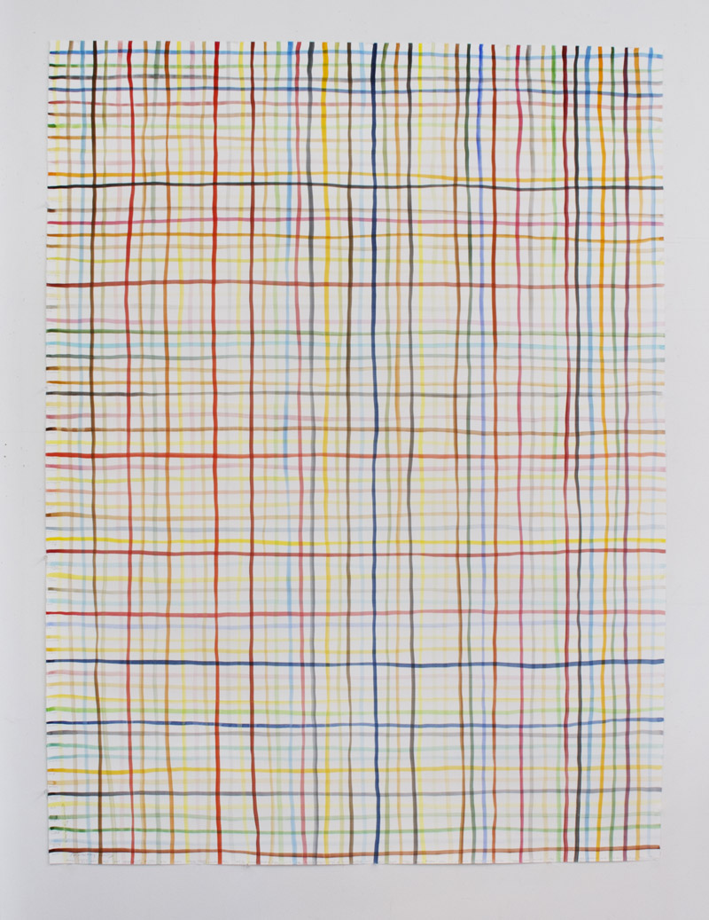 Spencer Finch Untitled (TBC), 2012 Watercolour on paper 129 x 172.7 cm © the artist; Courtesy, Lisson Gallery, London (artwork and detail)