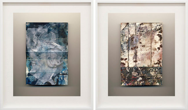 "1. & 2. ""Flowers"", 2012, Colour photograph, frame, 64,1 x 54 cm / 25 1/4 x 21 1/4 inches."